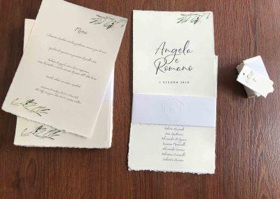 Carta Amalfi per partecipazioni di nozze