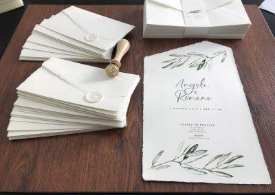 Partecipazioni di nozze Roma