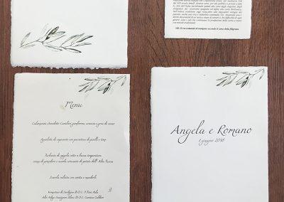 menu in carta amalfi