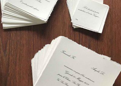 partecipazioni stampate su carta amalfi