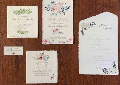 La carta Amalfi per le partecipazioni
