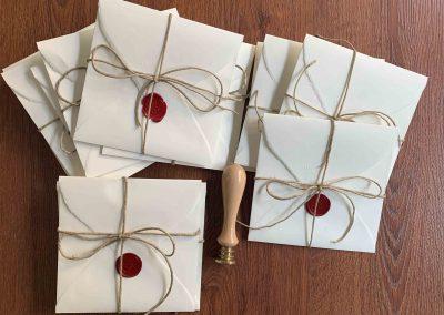 Carta Amalfi con spago spesso