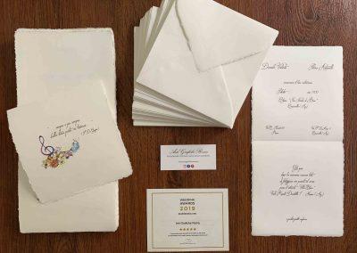 Carta Amalfi Personalizzata 15x15