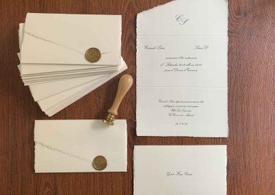 Carta Amalfi Ceralacca Oro