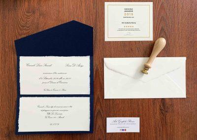 Partecipazioni di Matrimonio Amalfi e Tintoretto