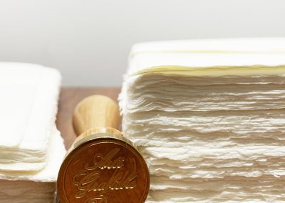 Carta Amalfi e Sigillo per Ceralacca