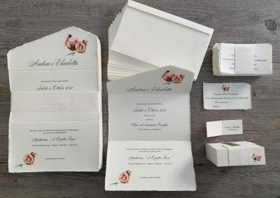 Partecipazioni Carta Amalfi personalizzate